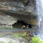 Under Bridal Veil Falls