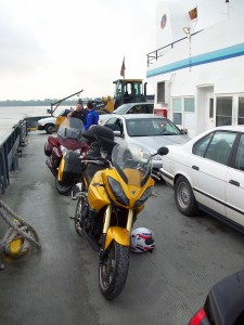 Mississippi River Ferry. New Roads, La.